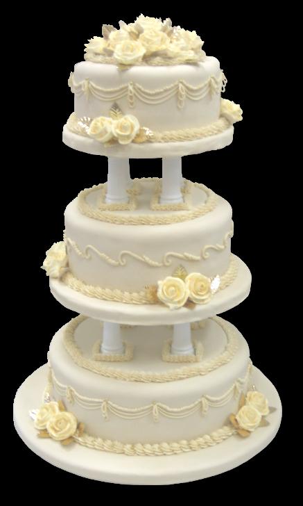 Gold Wedding Cake Png 1443 Transparentpng