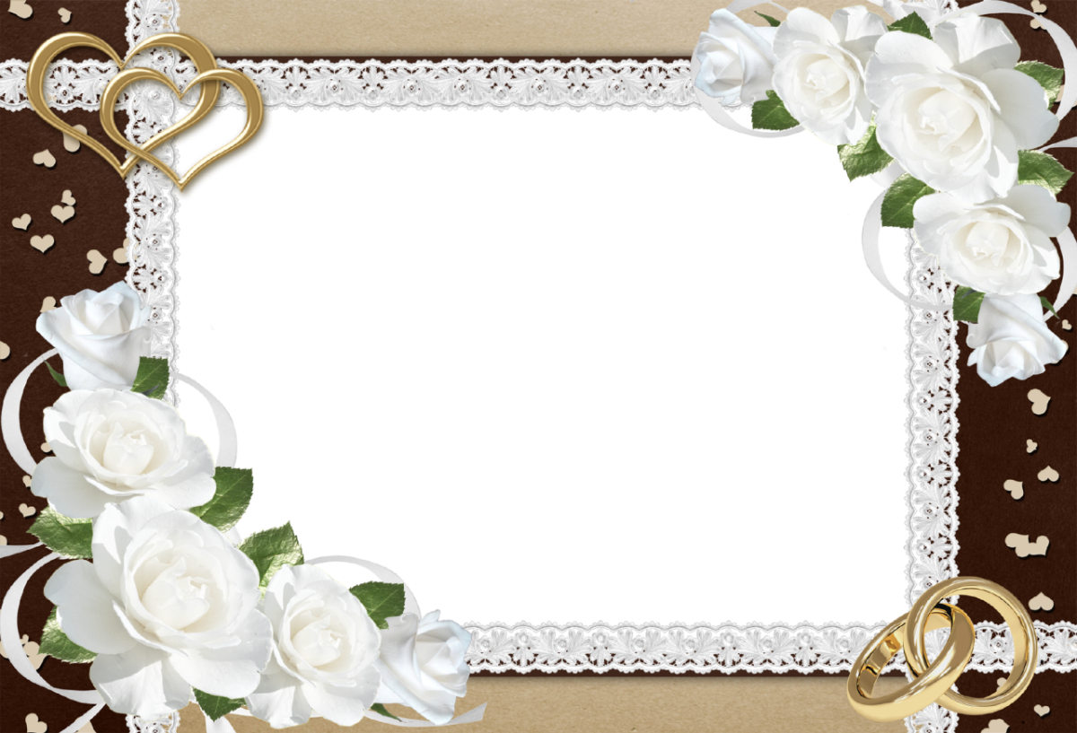 Wedding Frame Picture - 8479 - TransparentPNG