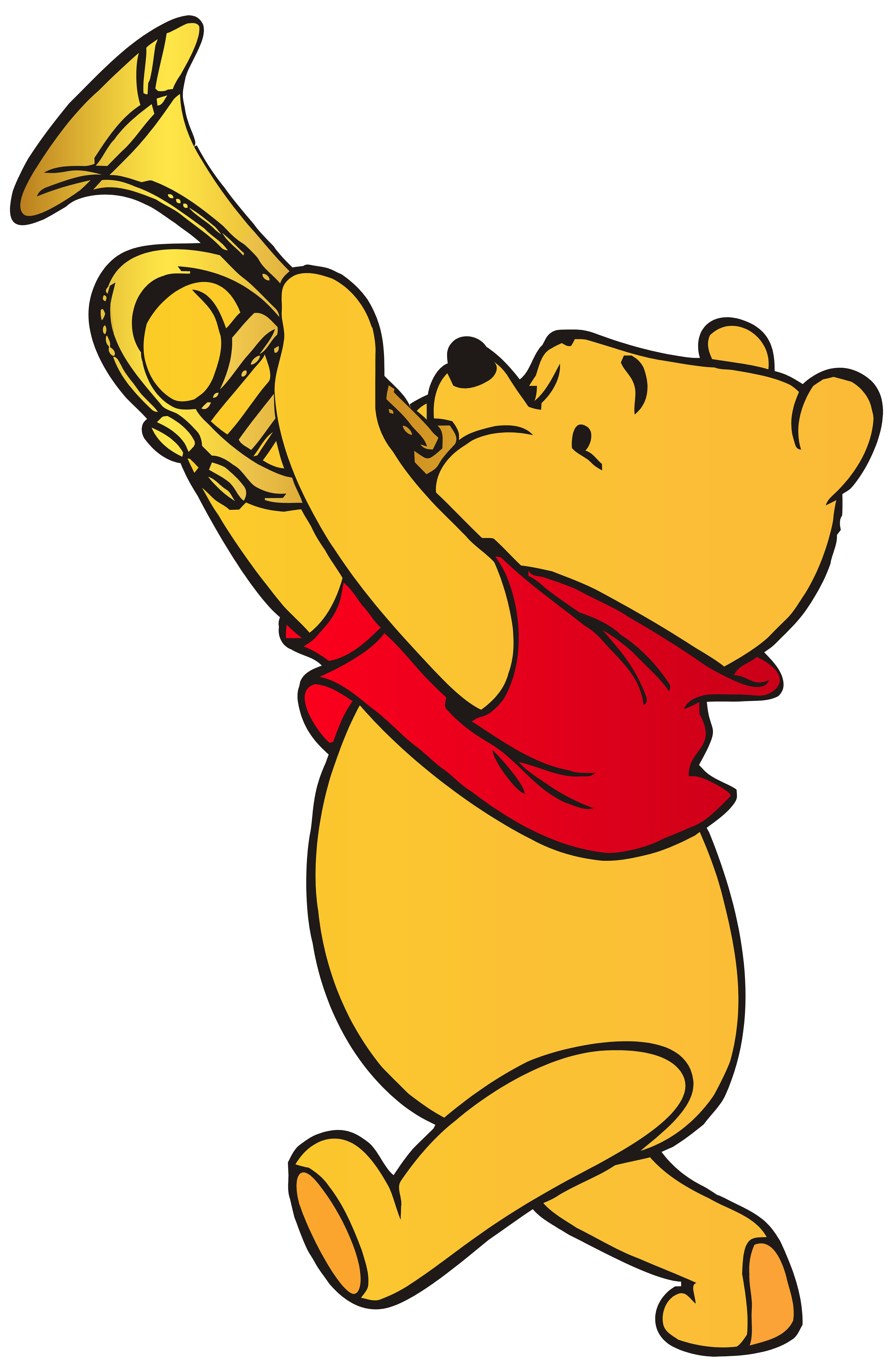 Winnie The Pooh Clarinet Png Pic PNG Images