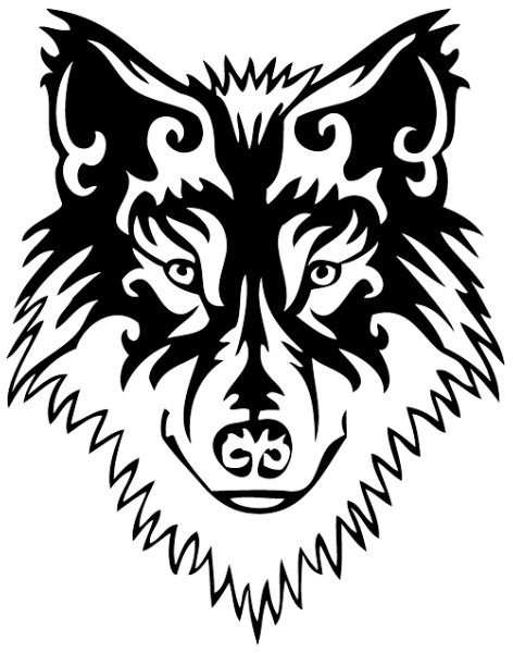 Wolf Tattoos Png Transparent Image  6318