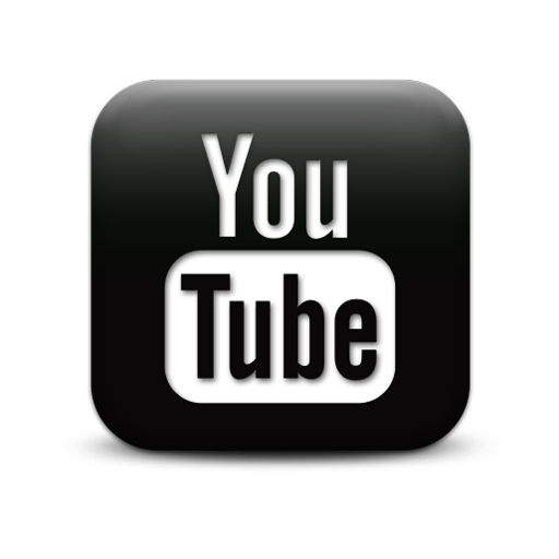 Clipart HD Youtube Logo Black 10581