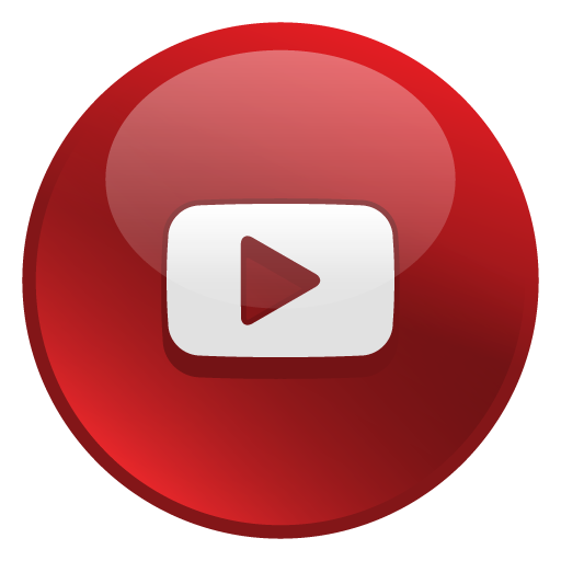 Youtube Glossy Social Icon Png 5934