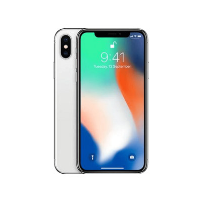 White iphone X Hd Free Download With A Clock On its Screen PNG Images