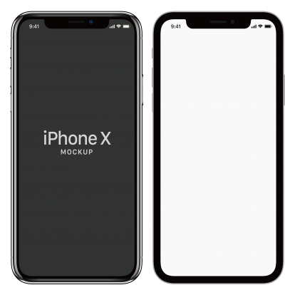 Black And White Screen iphone X Free Download PNG Images