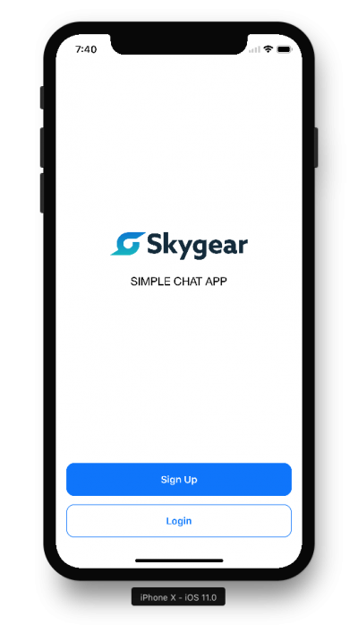 İphone X Png Free Downlaod, Skygear App Screen PNG Images