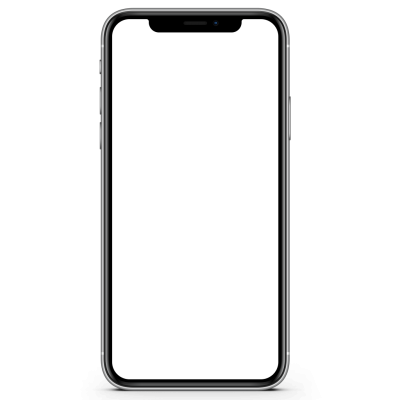 Phone, Call, Cool, Flat Screen Front View iphone X Transparent Background PNG Images