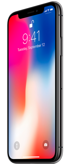 Unlock Screen Black iphone X Transparent Free Download PNG Images