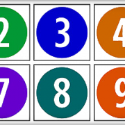 1 To 10 Numbers Transparent Image PNG Images