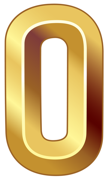 Zero, 0 Numbers Transparent PNG Images