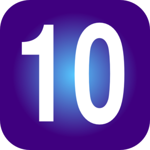 1 Numbers Png PNG Images
