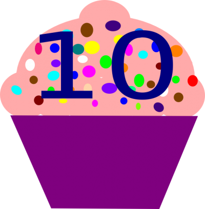 10 Numbers Clipart Photos PNG Images