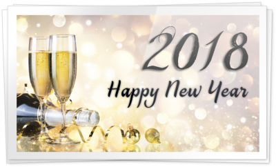 2018 Happy New Year Transparent Png image PNG Images