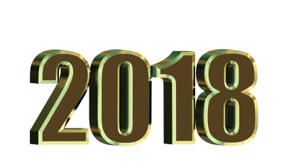 2018 New Year Png