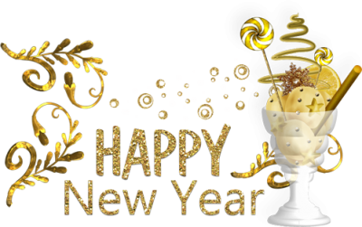 Happy New Year 2018 Photo Clipart PNG Images