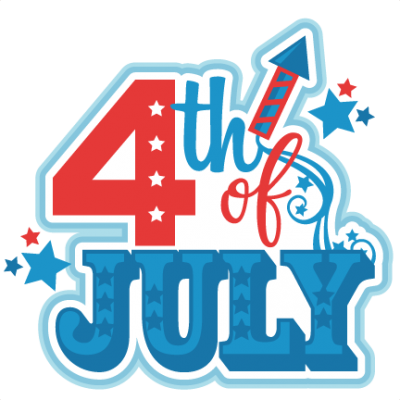 4th Of July Decoration Clipart PNG Images