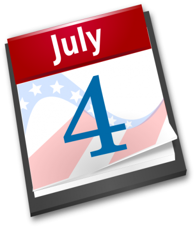 4th Of July Of Calendar Paper Png PNG Images