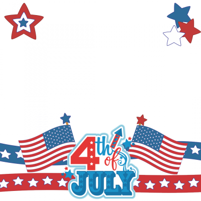 4th Of July Photo Frame Transparent Png PNG Images