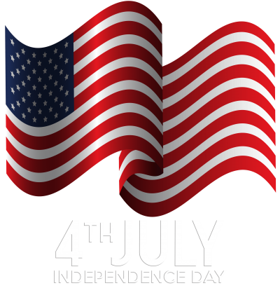 4th Of July Png Wavy American Flag PNG Images