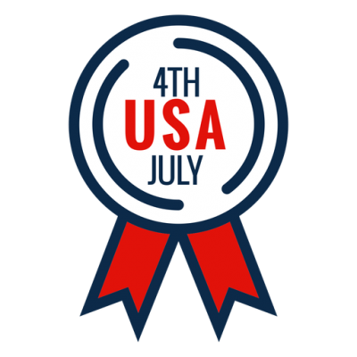 4th Usa July Png Transparent PNG Images