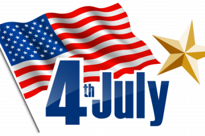 American Flag 4th Of July With Star Png PNG Images