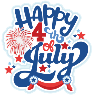 Happy 4th Of July Clipart PNG Images