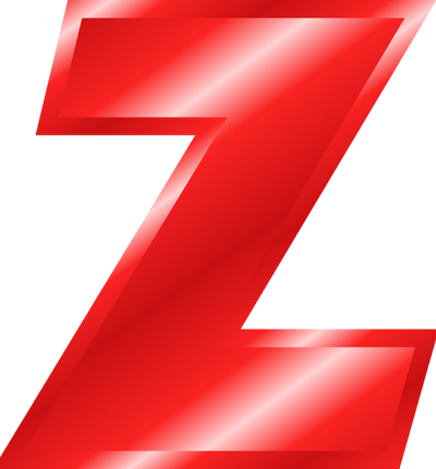 Best Red Z Alphabets Png PNG Images