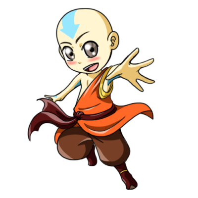 Avatar Aang Kids Baby Child  PNG Images