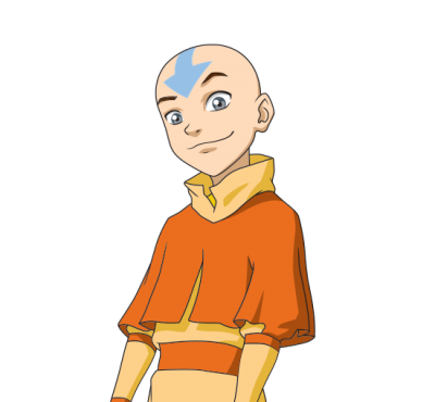 Mundonick Avatar Aang PNG Images