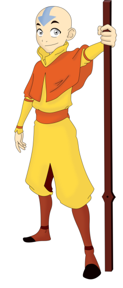 Imprimer Coloriage Avatar, Aang