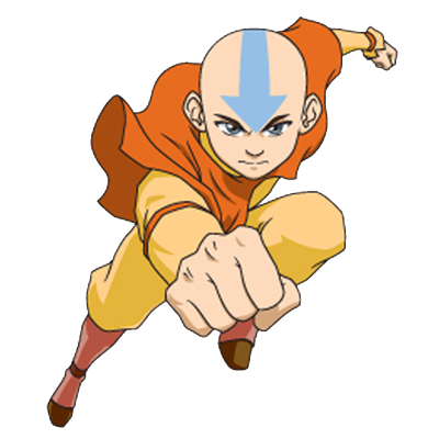 Aang Secret Santa, Flying PNG Images
