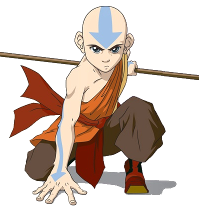 Avatar The Last Airbenderteam Avatar Characters Download Aang PNG PNG Images