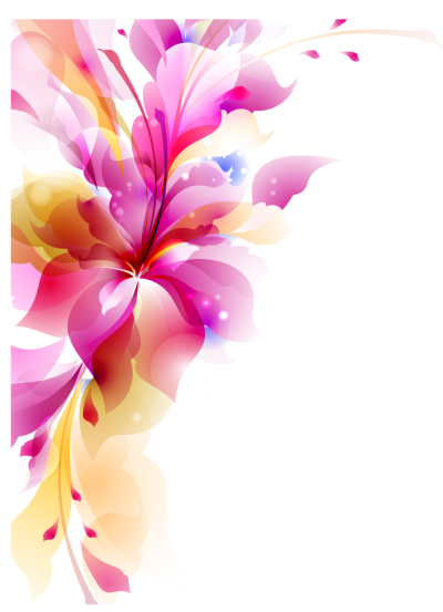 Abstract Flower Transparent PNG Images