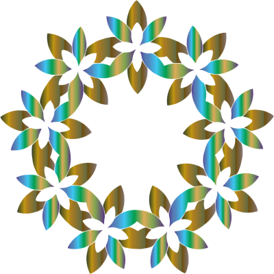Abstract Flower Cut Out PNG Images