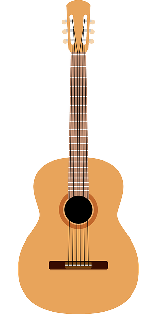 Acoustic Guitar Vector Graphic Picture Png