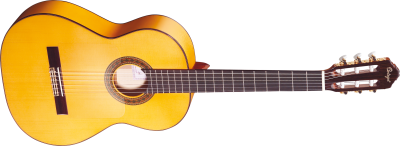 Plain Yellow Acoustic Guitar Transparent Image PNG Images