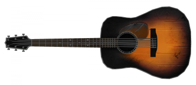 Acoustic Guitar The Vault Fallout Hd Photo  PNG Images