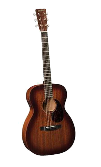 Martin Acoustic Guitar Retro Transparent Background PNG Images