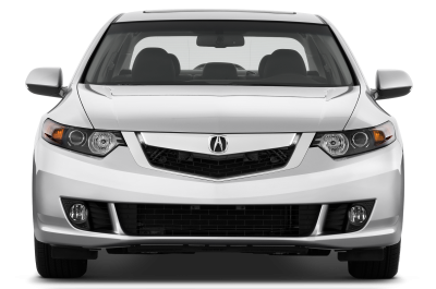 Acura Car, View From The Front Of The Car PNG Images
