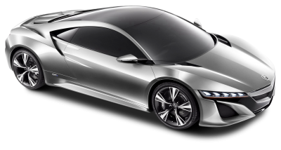 Acura Nsx Silver Car Png image Purepng Free PNG Images