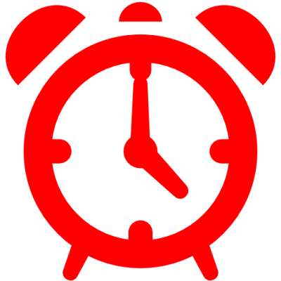Red Alarm Icon Image Download PNG Images