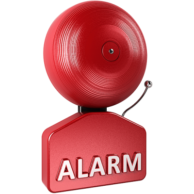 Alarm Cut Out PNG Images