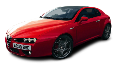 Alfa Romeo Red Sport Car Png