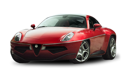 Alfa Romeo Red Sport Car Image