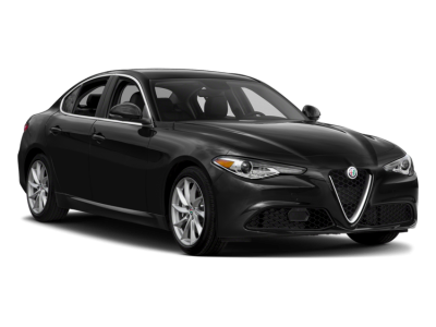 Alfa Romeo Giulia  Black Sedan Car  Clipart Transparent