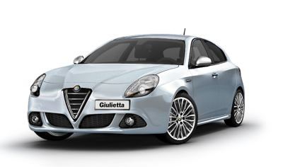 Alfa Romeo Giulietta Car Stylish Design Transparent