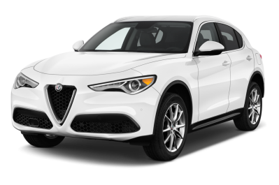 Alfa Romeo Stelvio White Suv Car Transparent