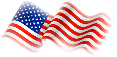 American Flag Clipart 6 PNG Images