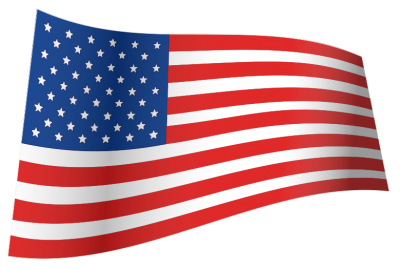 American Flag, North America, United States, Us, Usa