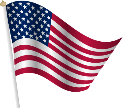 Clipart American Flag PNG Images