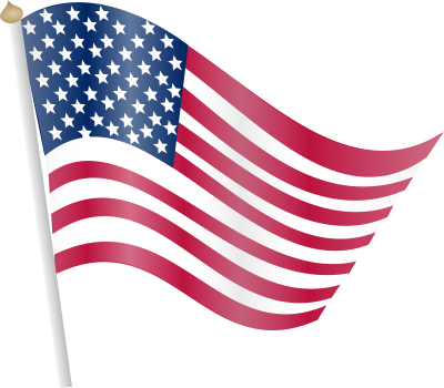 Flag Domain American Clip Art PNG Images